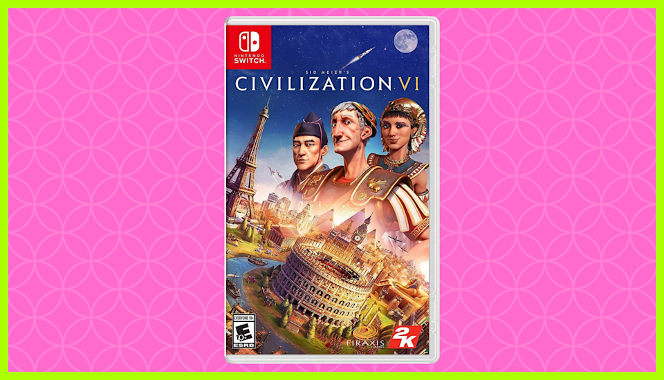 Save 25 percent on Sid Meier's Civilization VI for Nintendo Switch. (Photo: Amazon)