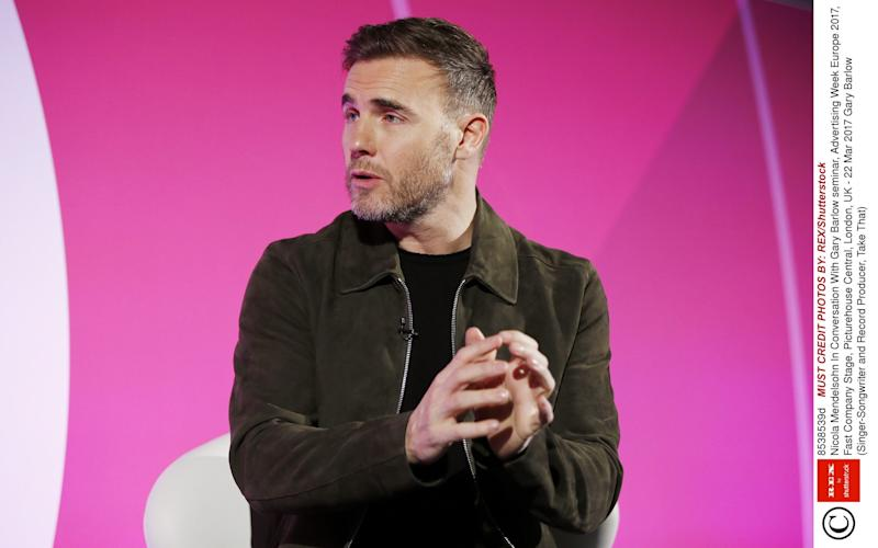 Gary Barlow taken ill during live interview - Rex Features