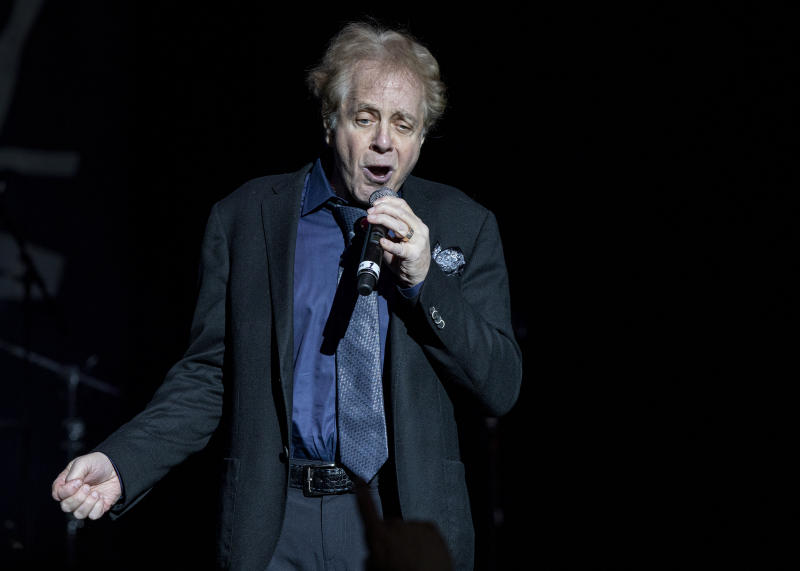 Eddie Money performs at DTE Energy Music Theater on May, 2019 in Clarkston, Michigan.