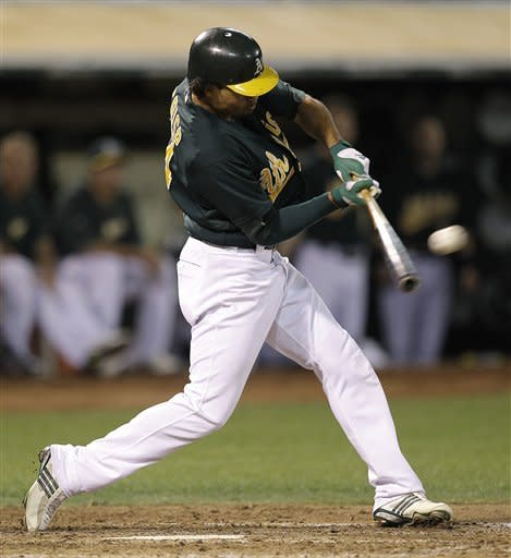 A's win, back in playoffs for 1st time in 6 years