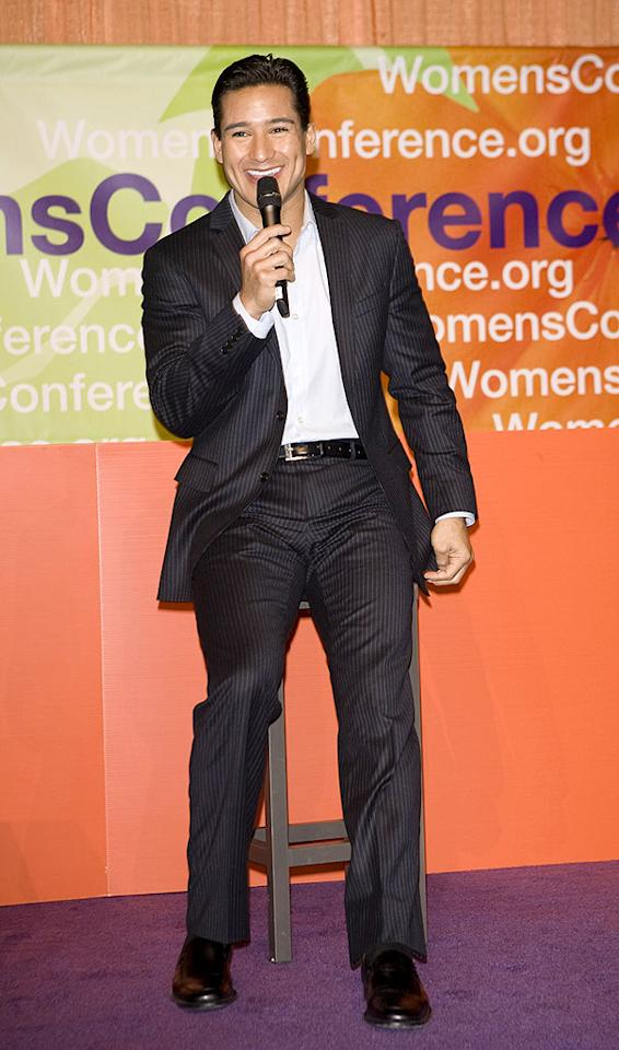 """Also in attendance ... former """"Saved By the Bell"""" stud Mario Lopez, who drove the ladies wild with his signature smile. Michael Bezjian/<a href=""""http://www.wireimage.com"""" target=""""new"""">WireImage.com</a> - October 26, 2009"""