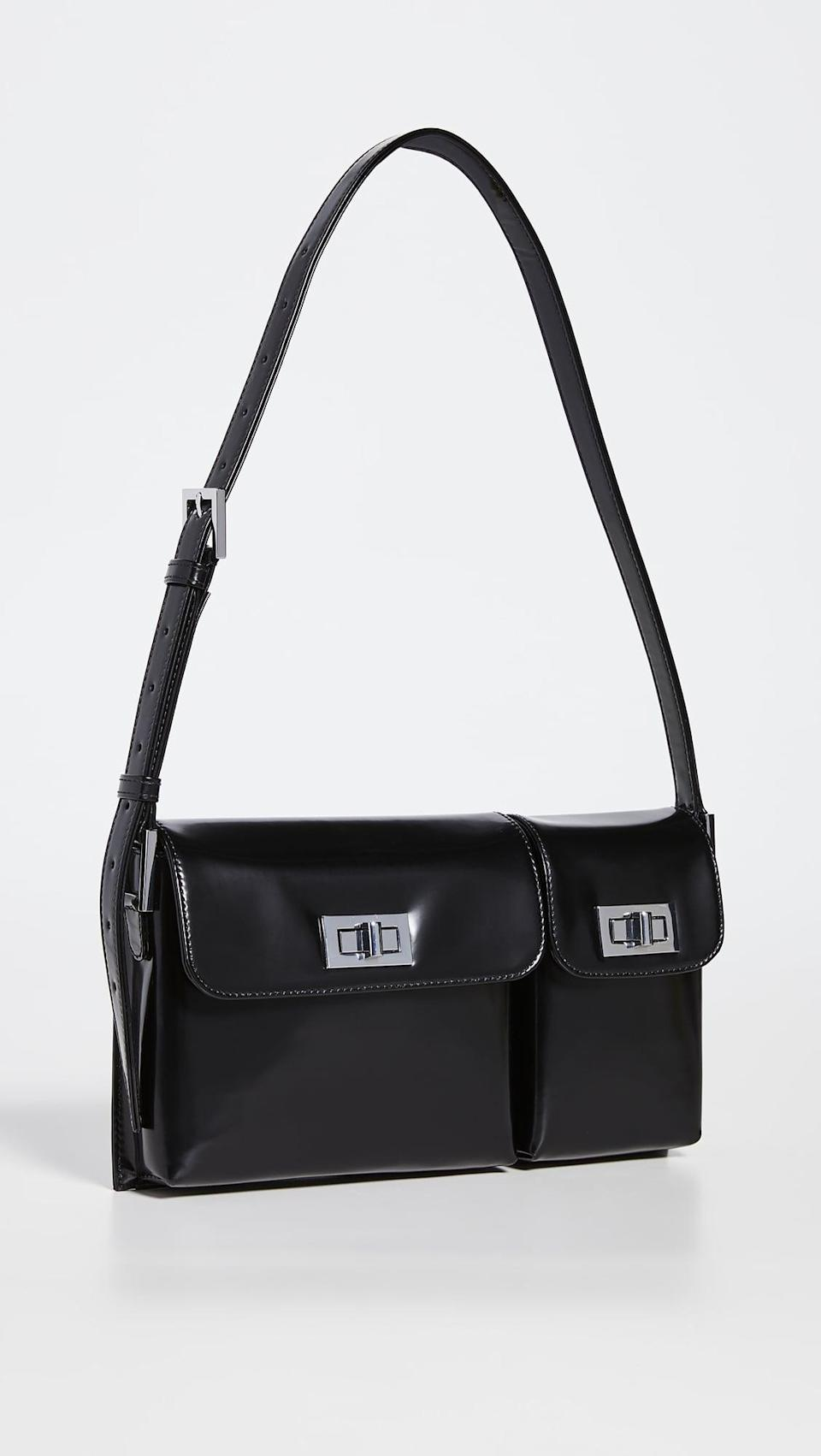 <p>This <span>BY FAR Billy Shoulder Bag</span> ($538, plus use code FALL20) is timeless.</p>