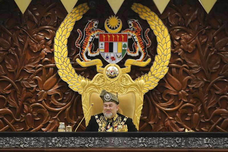 The Finance Ministry announced today that the Yang di-Pertuan Agong gave his assent to the implementation of the Sales and Services Tax (SST) last Friday. — Picture by Yusof Mat Isa