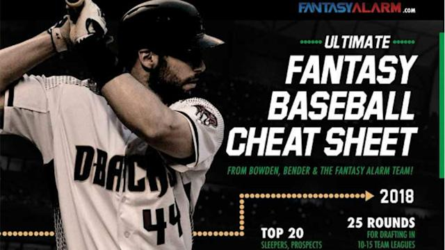 Get ready for greatness as Fantasy Alarm presents the ultimate, all-in-one fantasy baseball cheat sheet complete with both round and auction values. It's the only tool you'll need to carry with you into your drafts.