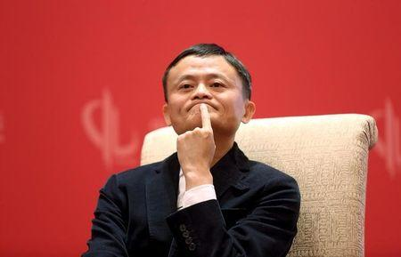 Founder and Executive Chairman of Alibaba Group Jack Ma meets Facebook founder and CEO Mark Zuckerberg, at the China Development Forum in Beijing