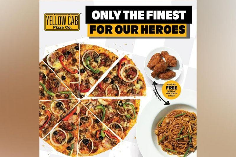 Yellow Cab treats 'everyday heroes' with promo