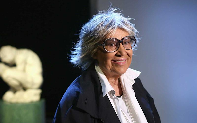 Collector and curator Alda Fendi. | Ernesto S. Ruscio/Getty Images