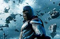 """<p>The series moves from the '70s of <em>Days of Future Past</em> to the '80s, where a young Jean Grey (Sophie Turner) and Cyclops (Tye Sheridan) begin their journeys as X-Men. And not a moment too soon: An all-powerful mutant who calls himself Apocalypse turns up to wipe out all of civilization.</p><p><a class=""""link rapid-noclick-resp"""" href=""""https://www.amazon.com/X-Men-Apocalypse-James-McAvoy/dp/B01FV2BH62?tag=syn-yahoo-20&ascsubtag=%5Bartid%7C10055.g.34426978%5Bsrc%7Cyahoo-us"""" rel=""""nofollow noopener"""" target=""""_blank"""" data-ylk=""""slk:AMAZON"""">AMAZON</a> <a class=""""link rapid-noclick-resp"""" href=""""https://go.redirectingat.com?id=74968X1596630&url=https%3A%2F%2Fwww.disneyplus.com%2Fmovies%2Fx-men-apocalypse%2F8ElyHmLZJyGQ&sref=https%3A%2F%2Fwww.goodhousekeeping.com%2Flife%2Fentertainment%2Fg34426978%2Fx-men-movies-in-order%2F"""" rel=""""nofollow noopener"""" target=""""_blank"""" data-ylk=""""slk:DISNEY+"""">DISNEY+</a></p><p><strong>RELATED:</strong> <a href=""""https://www.goodhousekeeping.com/life/entertainment/g29009138/upcoming-new-superhero-movies/"""" rel=""""nofollow noopener"""" target=""""_blank"""" data-ylk=""""slk:A Complete List of Every Upcoming Superhero Movie, Including Ones From Marvel and DC"""" class=""""link rapid-noclick-resp"""">A Complete List of Every Upcoming Superhero Movie, Including Ones From Marvel and DC</a></p>"""