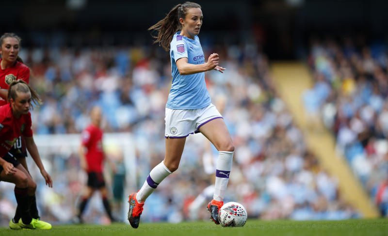 Caroline Weir has been in excellent for for Manchester City at the start of the season