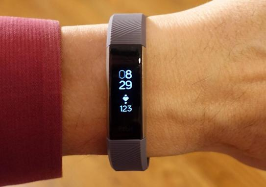 The Fitbit Alta HR band is the least dorky fitness band you can buy