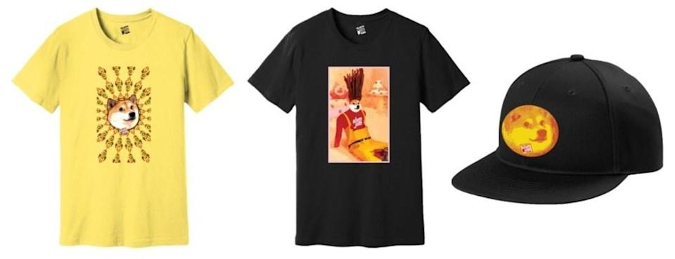 Slim Jim launches a collection of Doge-themed merchandise, available exclusively on Dogedrip.co while supplies last