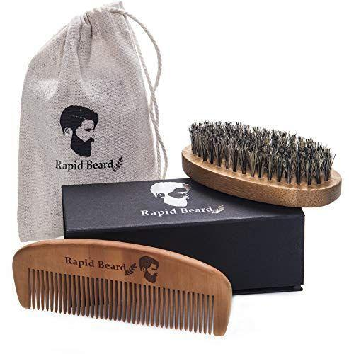 """<p><strong>Rapid Beard</strong></p><p>amazon.com</p><p><strong>$18.99</strong></p><p><a href=""""https://www.amazon.com/dp/B019CFQORQ?tag=syn-yahoo-20&ascsubtag=%5Bartid%7C10055.g.4676%5Bsrc%7Cyahoo-us"""" rel=""""nofollow noopener"""" target=""""_blank"""" data-ylk=""""slk:Shop Now"""" class=""""link rapid-noclick-resp"""">Shop Now</a></p><p>The bearded man in your life needs to keep it tame — that's where you come in with this Rapid Beard grooming kit. </p>"""