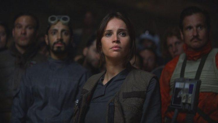 Felicity Jones in 'Rogue One: A Star Wars Story' (Photo: Lucasfilm)