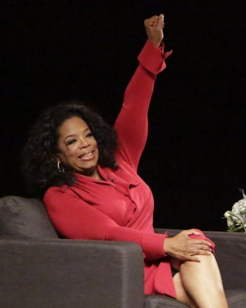 """Oprah Winfrey attends """"A Conversation with David Letterman and Oprah Winfrey"""" in Indiana on November 26, 2012. She said that a special show with Lance Armstrong would address """"years of accusations of cheating, and charges of lying about the use of performance-enhancing drugs"""" throughout Armstrong's career"""