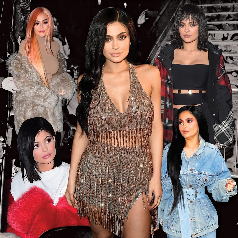 <p>The reality star changes up her hair nearly as often as she changes up her outfits. (Photo: Yahoo Beauty) </p>