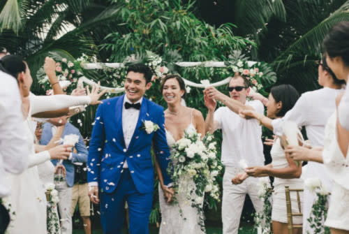 Golding and Lo tied the knot in August 2016 prior to his Hollywood debut