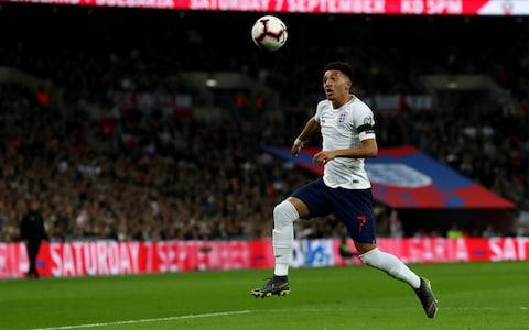 Jadon Sancho playing for England - Credit: ACTION PLUS