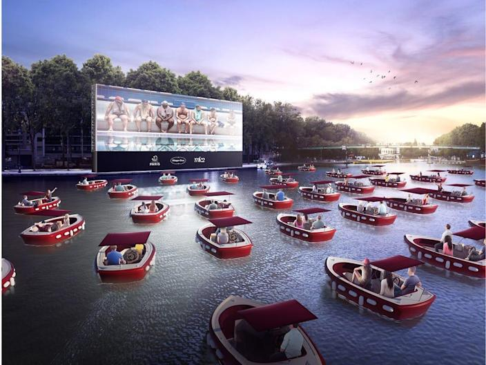 A floating cinema with socially distant boats is coming to Pittsburgh in September. It's like a drive-in but on the water.