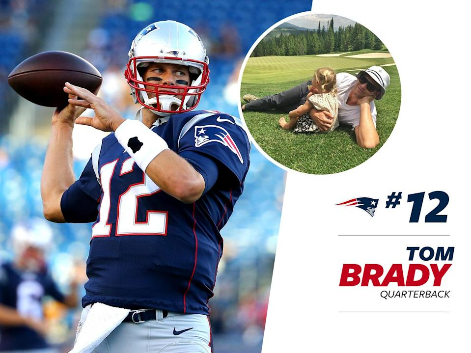 """<p>Patriot's quarterback Tom Brady is a style star in his own right — without the help of supermodel wife, Gisele Bündchen. Not counting the <a href=""""http://sports.yahoo.com/m/50d758df-728d-3ee5-b31c-fa0dd4e7693c/ss_tom-brady-wears-massive-coat.html"""" data-ylk=""""slk:ridiculous coat;outcm:mb_qualified_link;_E:mb_qualified_link;ct:story;"""" class=""""link rapid-noclick-resp yahoo-link"""">ridiculous coat</a>he wore against the Steelers, Brady's had some standout fashion moments, and <a href=""""https://www.bloomberg.com/news/articles/2016-09-14/patriots-quarterback-tom-brady-has-some-style-advice-for-you"""" rel=""""nofollow noopener"""" target=""""_blank"""" data-ylk=""""slk:loves to gush about Tom Ford"""" class=""""link rapid-noclick-resp"""">loves to gush about Tom Ford</a>. </p>"""