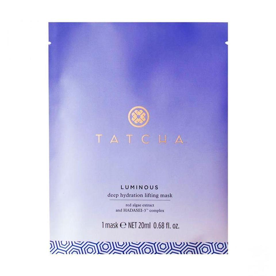 "<p><strong>Tatcha</strong></p><p>sephora.com</p><p><strong>$95.00</strong></p><p><a href=""https://go.redirectingat.com?id=74968X1596630&url=https%3A%2F%2Fwww.sephora.com%2Fproduct%2Fluminous-deep-hydration-lifting-mask-P399622&sref=https%3A%2F%2Fwww.bestproducts.com%2Fbeauty%2Fg776%2Fbest-facial-sheet-masks%2F"" rel=""nofollow noopener"" target=""_blank"" data-ylk=""slk:Shop Now"" class=""link rapid-noclick-resp"">Shop Now</a></p><p>Truly living up to the hype, this splurgeworthy sheet mask from Tatcha is derived from coconuts, and the brand claims that it can boost moisture levels up to 200% in just 15 minutes. </p><p>Even better than freshly hydrated skin? With every purchase, Tatcha donates to <a href=""https://www.roomtoread.org/"" rel=""nofollow noopener"" target=""_blank"" data-ylk=""slk:Room to Read"" class=""link rapid-noclick-resp"">Room to Read</a>, which supports girls' education around the world.</p>"