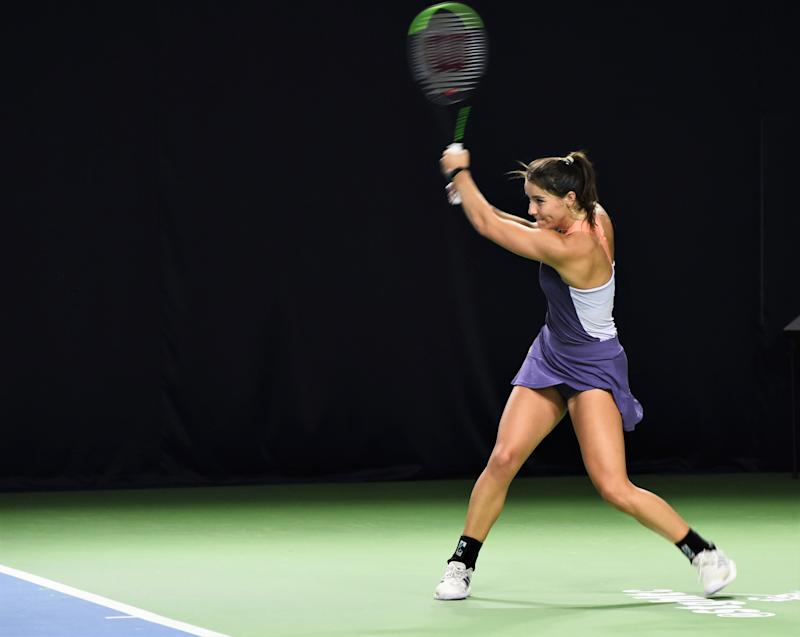 Burrage is hoping for an impressive start to the resumed ITF Tour as she targets a qualifying spot for the Australian Open