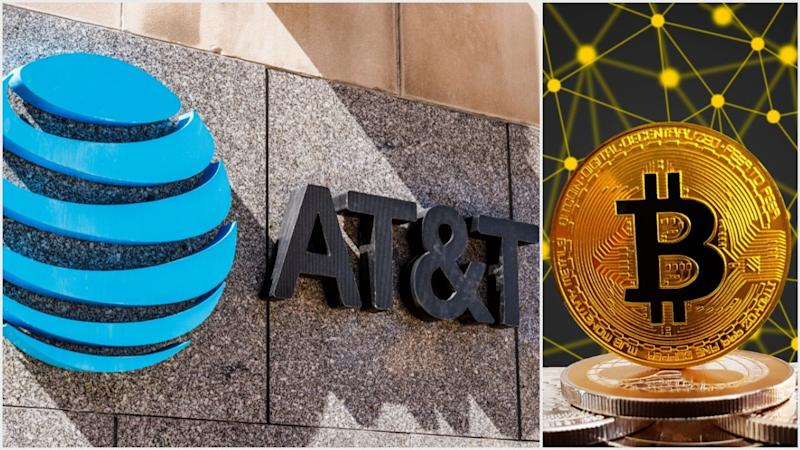 AT&T is the first telecom company to begin accepting crypto payments, helping to fuel a broader trend in 2019 of corporations supporting bitcoin. | Source: (i) Shutterstock (ii) Shutterstock