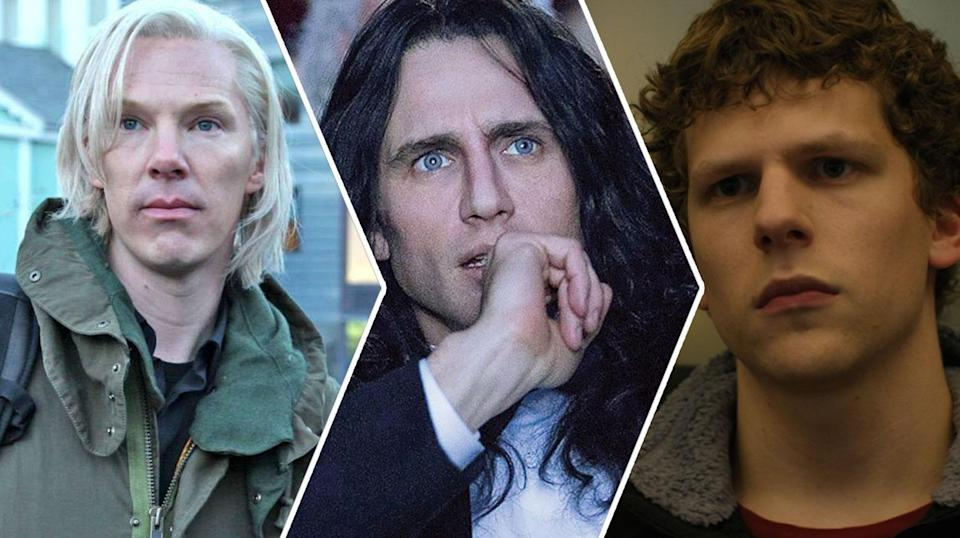 The Fifth Estate, The Disaster Artist, The Social Network