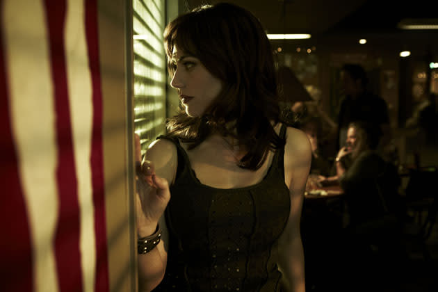 """Sons of Anarchy"" Maggie Siff"
