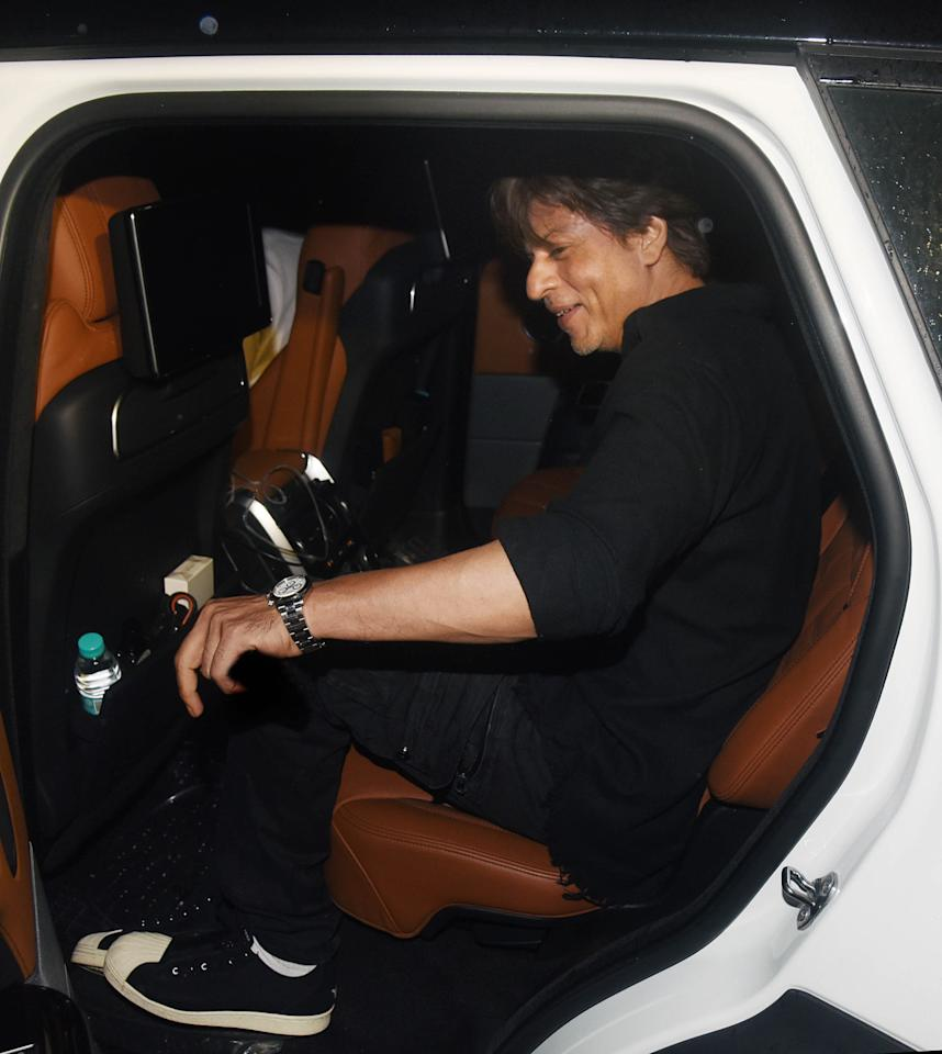 The badsaah was spotted in his brand new Range Rover last night, looking suitably pleased with himself.