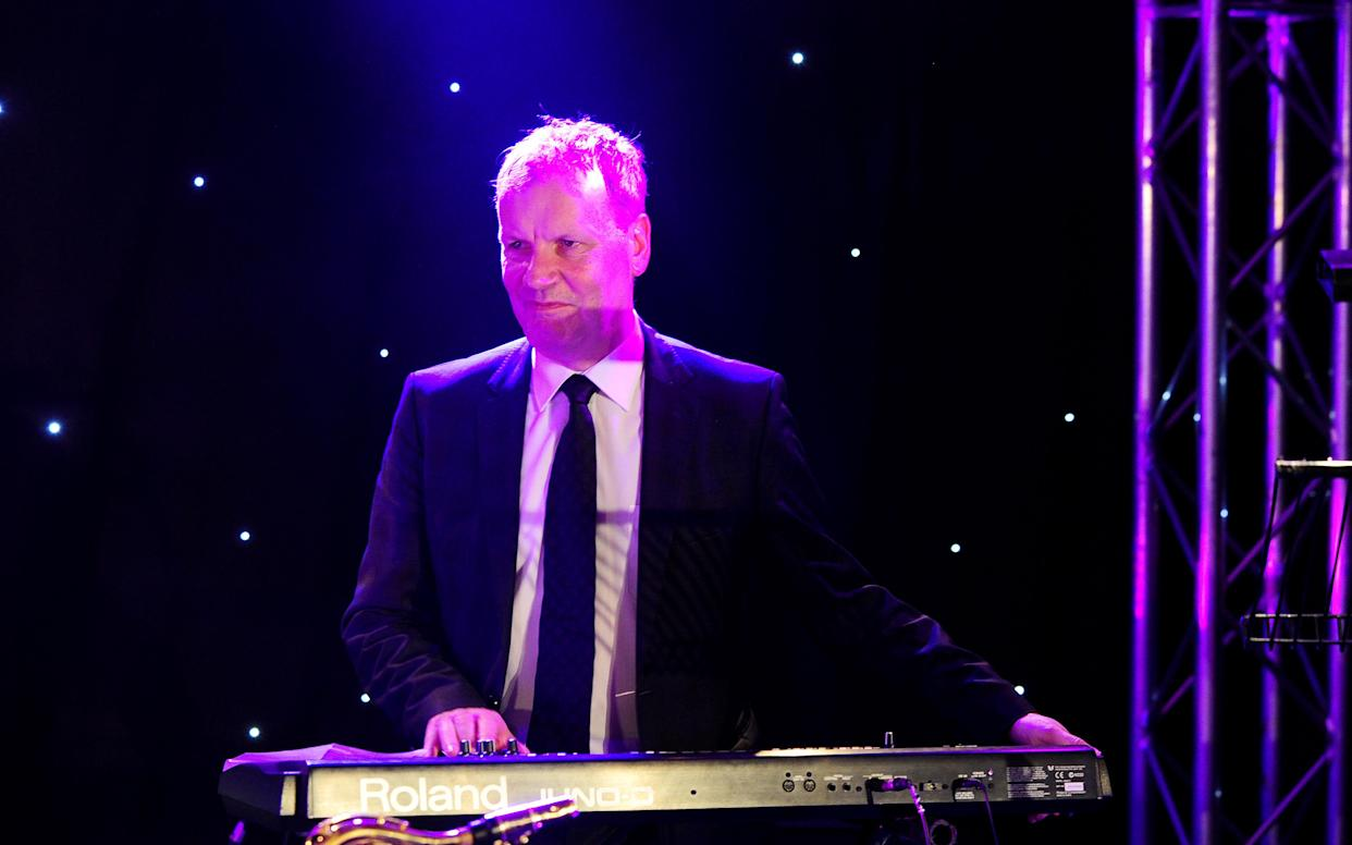 SNP MP and musician Pete Wishart played keyboard in the band Runrig (Ian West/PA)