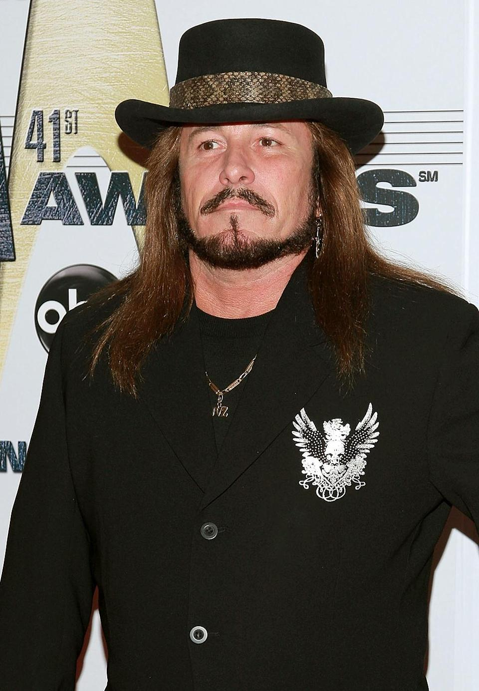 Jimmie Van Zant, born Jimmie Kelsay, was a Southern rock singer-songwriter and guitarist and the illegitimate son of E. C. Van Zant (uncle of Donnie, Johnny, and Ronnie Van Zant. He died on April 7 at age 59, after battling liver cancer for several years. (Photo: Getty)