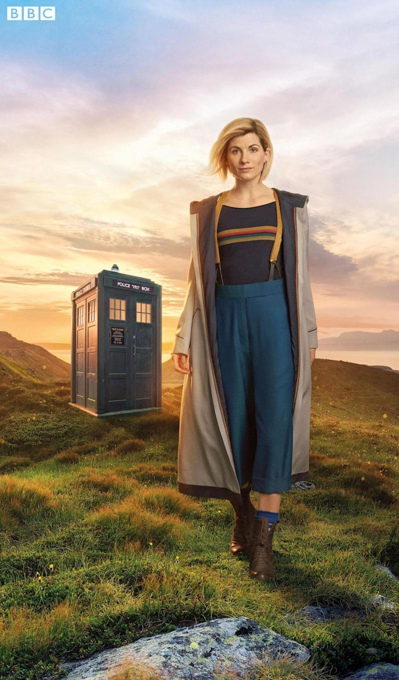 New role: Jodie Whittaker as the Doctor (Steve Schofield/BBC/PA Wire)