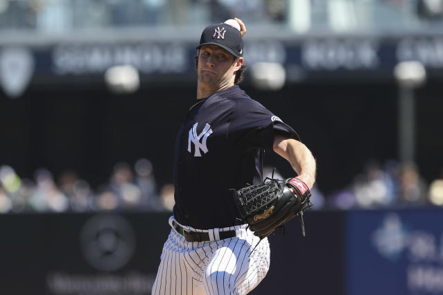 """<a class=""""link rapid-noclick-resp"""" href=""""/mlb/players/9121/"""" data-ylk=""""slk:Gerrit Cole"""">Gerrit Cole</a> and the Yankees might have gotten even better with a few months off. (Photo by /Icon Sportswire via Getty Images)"""