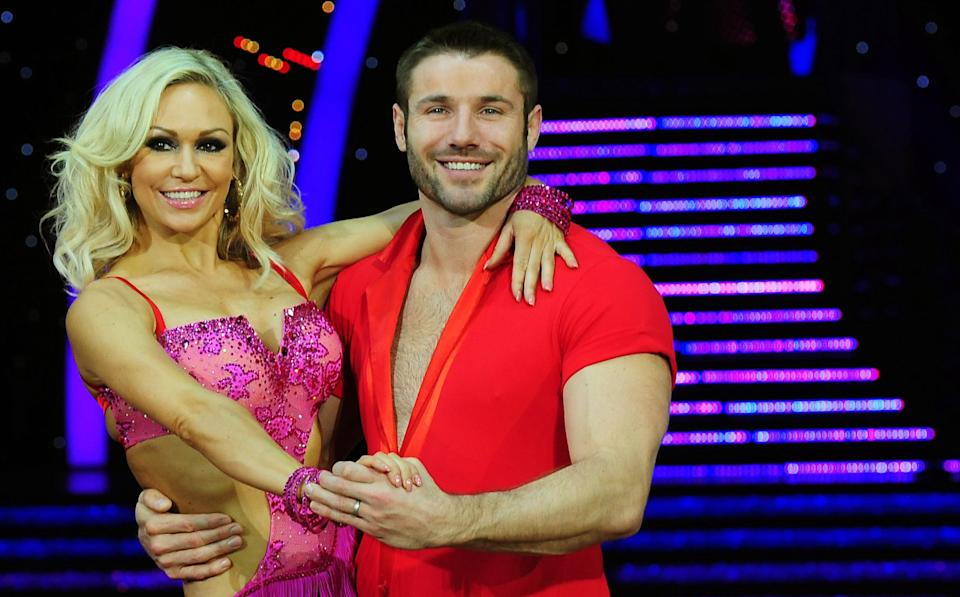 Ben Cohen and Kristina Rhianoff met when they were paired on 'Strictly Come Dancing' and now have a daughter together. (PA)