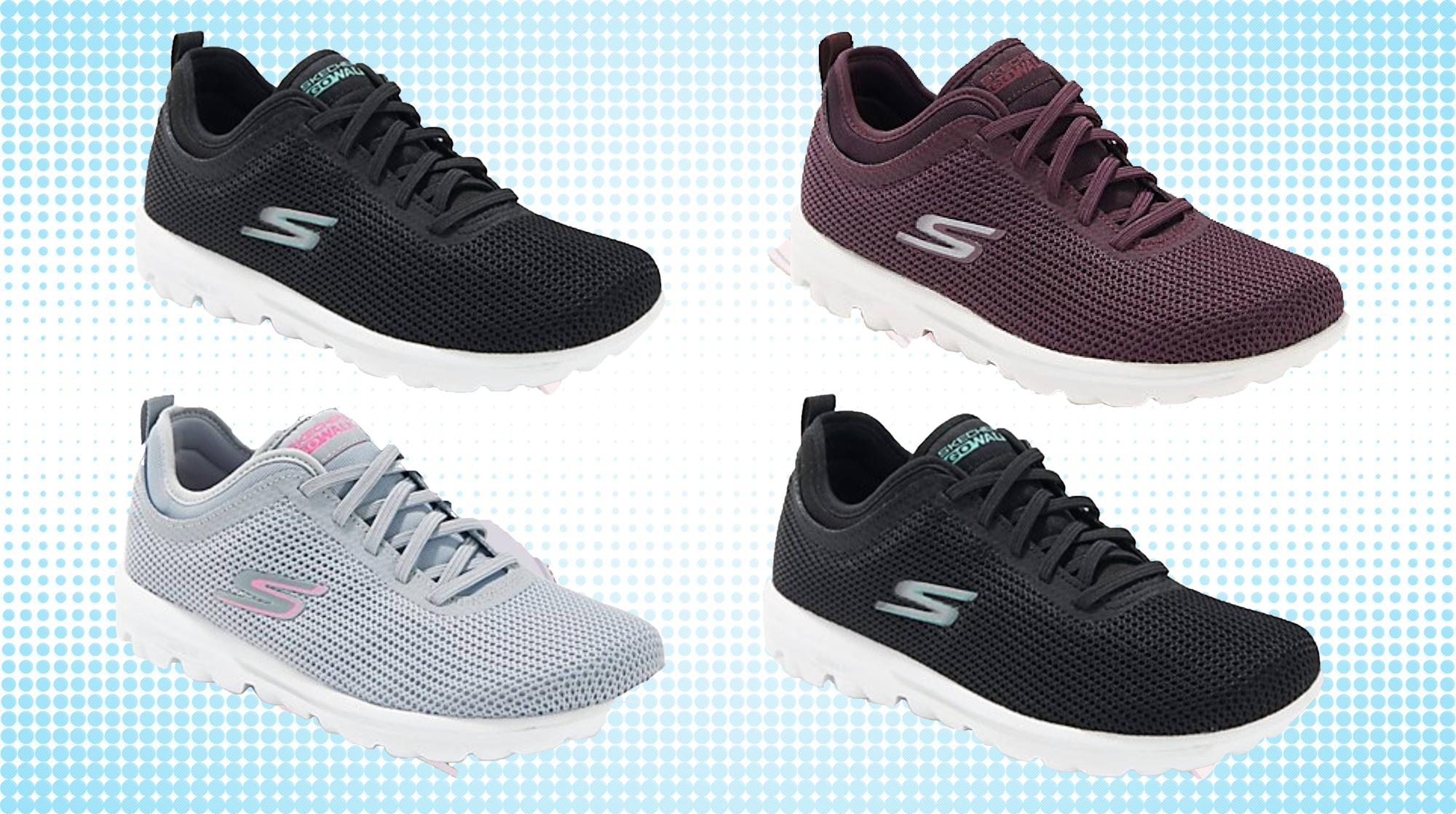 Correspondiente a Engañoso notificación  Podiatrist-approved Skechers walking shoes are on sale right now — and  you'll never be comfier