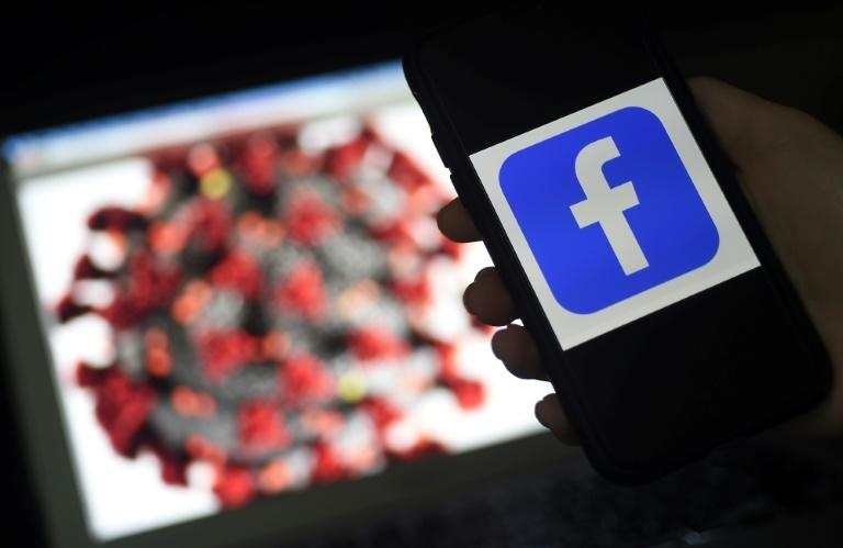 Facebook saw a rise in users, revenue and profit in the past quarter as people were forced to stay home during the global pandemic, but the social network said the outlook for its advertising revenue is highly uncertain (AFP Photo/Olivier DOULIERY)