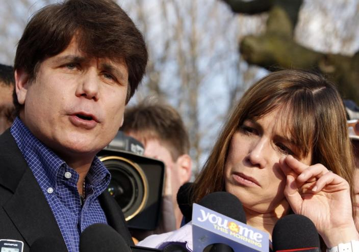 """<div class=""""inline-image__caption""""> <p>Former Governor of Illinois Rod Blagojevich was sentenced to prison for corruption offenses.</p> </div> <div class=""""inline-image__credit""""> Jeff Haynes/Reuters </div>"""