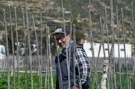 Retired Tunisian school teacher Ali Garci farms a plot of land inherited from his family and says this traditional form of agriculture recognised by the UN as a globally important heritage is 'totally dependant on rainwater'