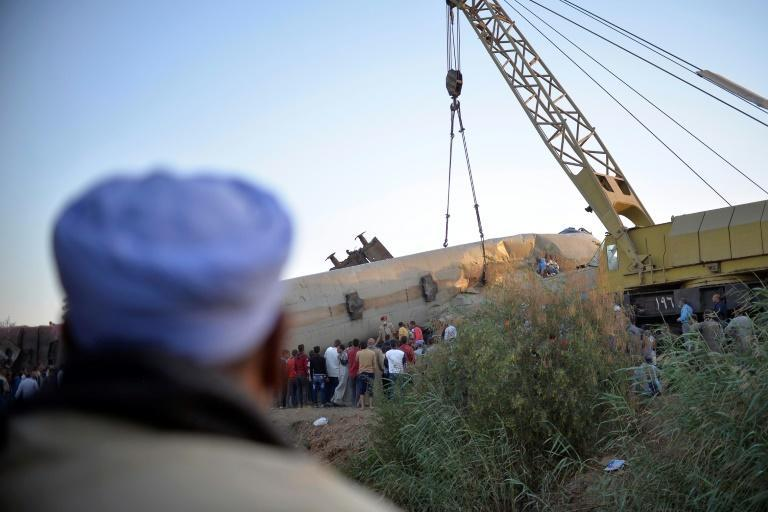 The latest train crash in Egypt killed at least 19 people and injured 185, according to a revised toll