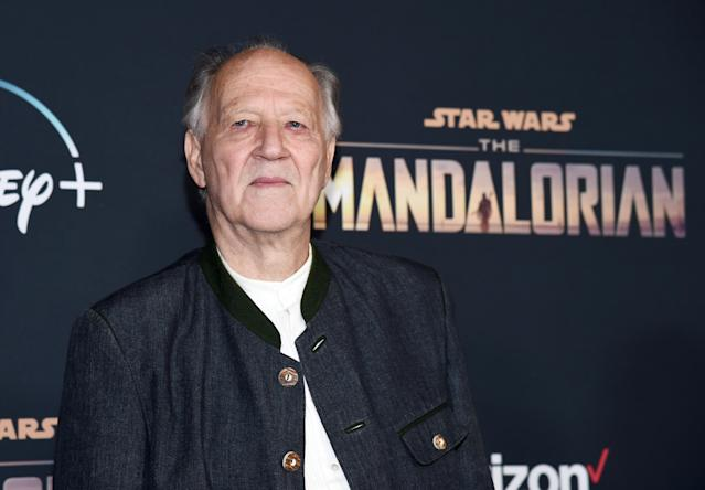 "Werner Herzog arrives at the premiere of Disney+'s ""The Mandalorian"" on November 13, 2019. (Photo by Amanda Edwards/WireImage)"