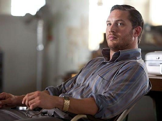 "Tom Hardy appeared in ""Inception."""