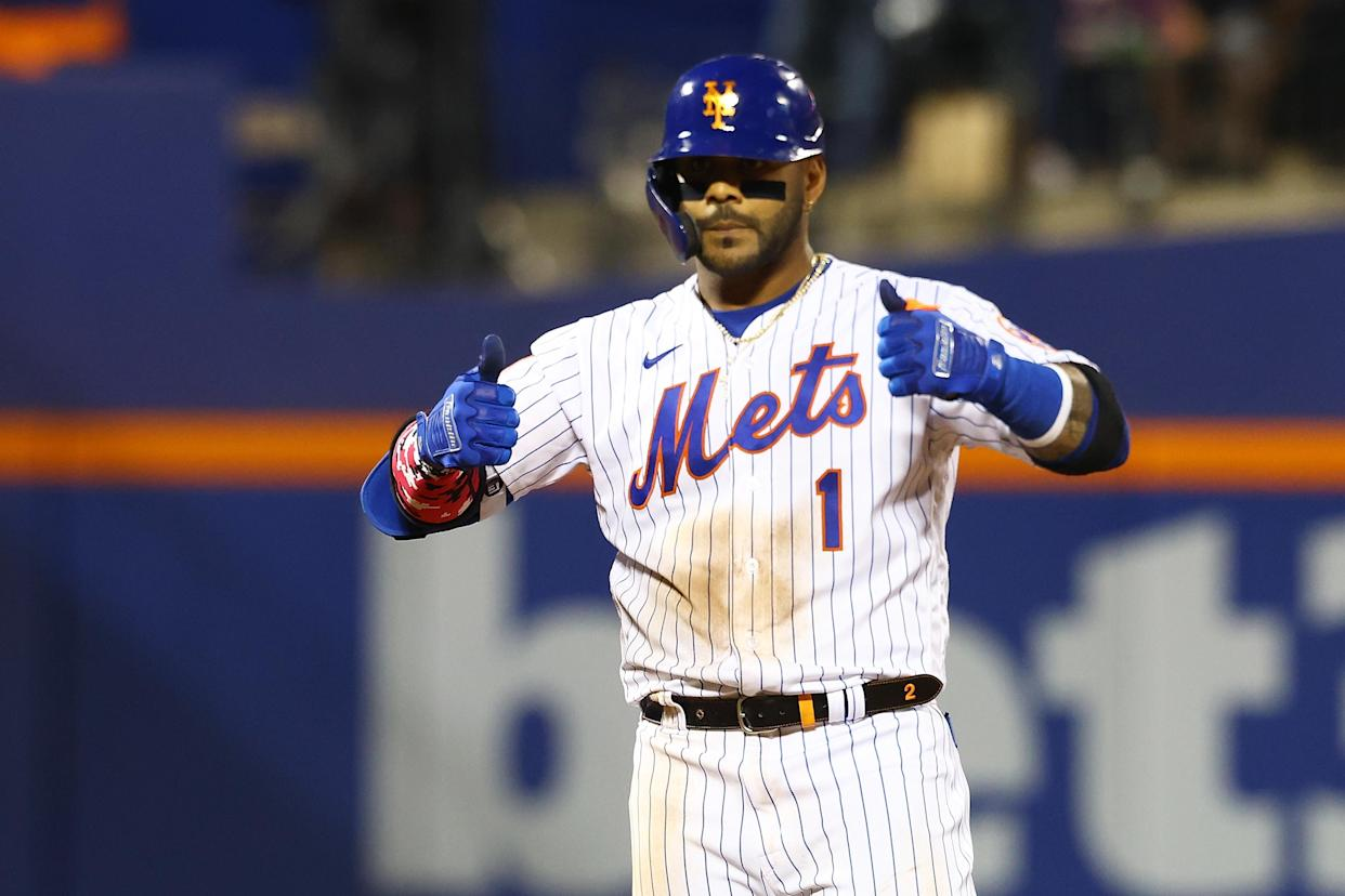 Jonathan Villar and the New York Mets will have interesting home games the rest of the season. (Photo by Mike Stobe/Getty Images)
