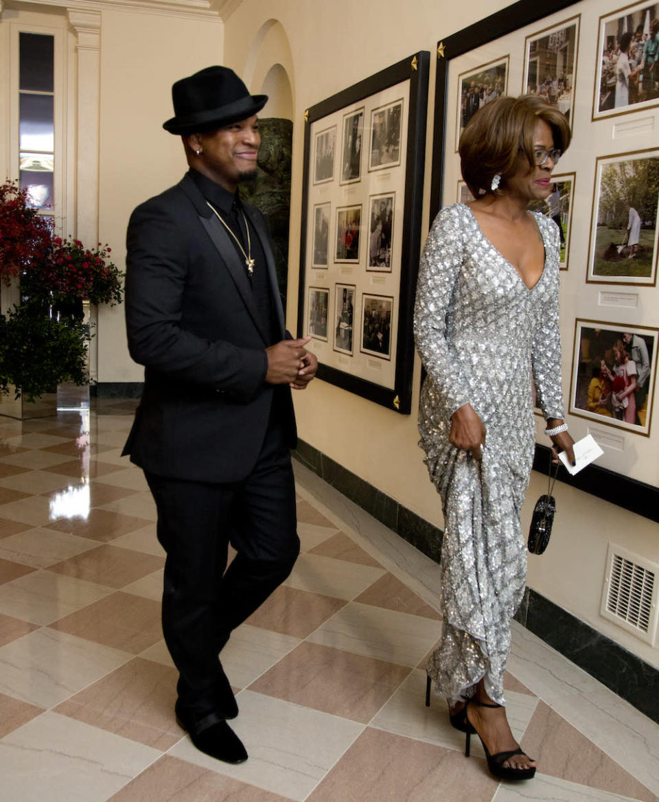 "<p>""I am the most proud mom,"" Harriett Loraine Burts said of her son Ne-Yo, who was the performer of the night. He looked snazzy in a tux with satin lapels, a fedora pulled to the side, and a gold chain, while she shined in a silver embellished gown. <br></p>"