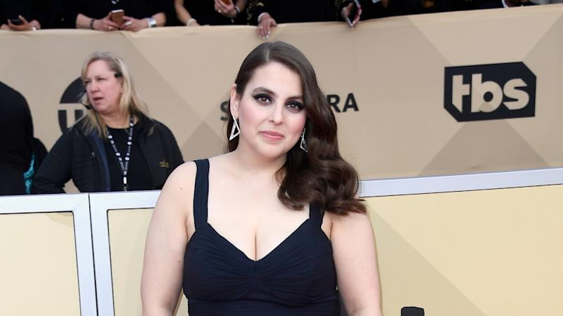 Beanie Feldstein Wears Her High School Prom Dress to 2018 SAG Awards