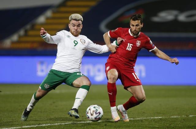 Aaron Connolly, left, is another emerging talent