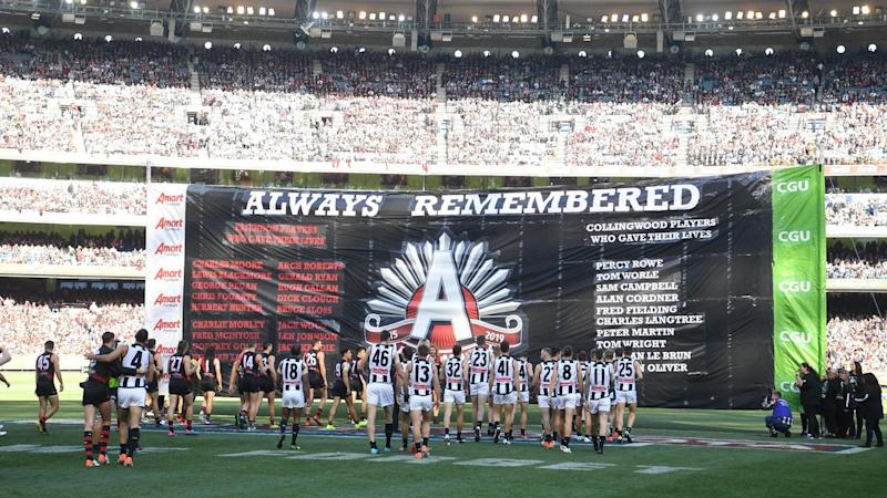 The AFL's Anzac Day clash between Essendon and Collingwood will be played in a twilight time slot