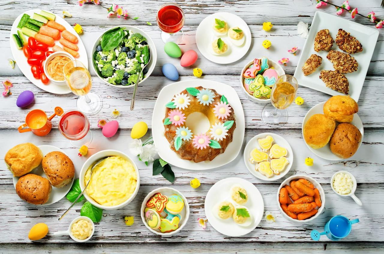 "<p>We can thank <a href=""https://www.catholiceducation.org/en/culture/catholic-contributions/history-of-lent.html"" target=""_blank"">Lent</a> for our big Easter feasts. Originally, Lent <a href=""https://www.vox.com/2017/3/1/14715240/lent-explained-ash-wednesday-easter-2019-dates"" target=""_blank"">required people to fast</a> for 40 days (excluding Sundays), but these days it's more commonly observed by having people give up an indulgence, like caffeine, chocolate, television, or social media.</p><p>The <a href=""https://www.mirror.co.uk/news/world-news/when-lent-end-2018-dates-12075722"" target=""_blank"">exact end date for Lent</a> can vary slightly depending on whether the church is following Western or Eastern practices, but it tends to end near Easter. So come Easter Sunday, people are definitely ready to dig into some of the sweet and savory dishes they've been missing.<strong></strong></p><p><strong>RELATED:</strong> <a href=""https://www.goodhousekeeping.com/holidays/easter-ideas/g31078980/things-to-give-up-for-lent/"" target=""_blank"">20 Creative Things to Give Up for Lent in 2020</a></p>"