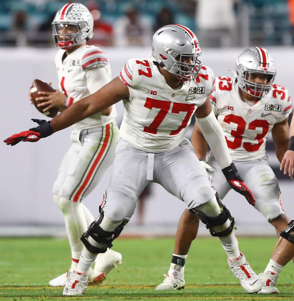 Ohio State lineman Paris Johnson has article published - Buckeyes Wire