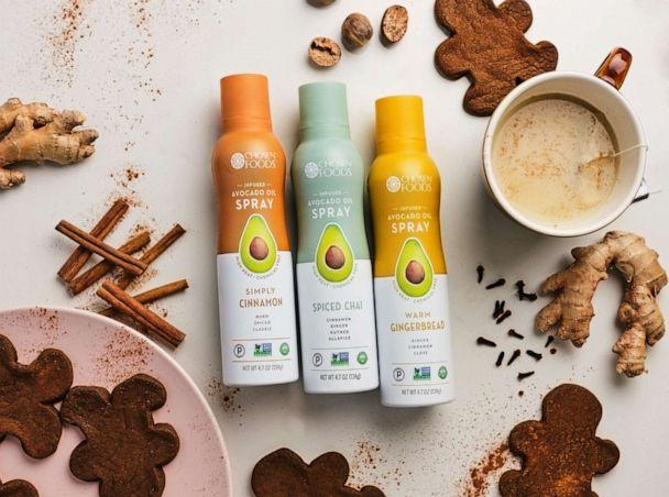 PHOTO: Chosen Foods avocado oil has new sweet infused flavors such including spiced chai, cinnamon, gingerbread. (Chosen Foods)