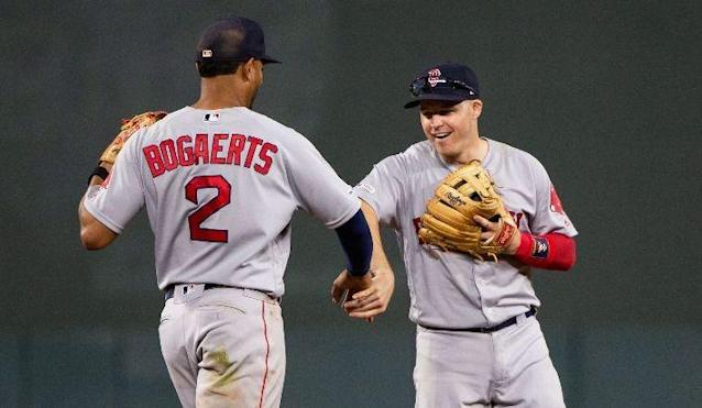 This wasn't the Royals or Orioles. This was a series victory over the best team in the American League. John Tomase won't say they're all the way back, but there's no doubt that the Red Sox are playing much better at just the right time.